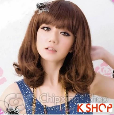 Kiểu tóc ngắn ngang vai Hàn Quốc đẹp 2016 cho cô nàng dễ thương