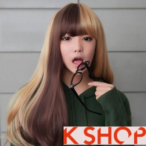 Kiểu tóc nữ đẹp Hàn Quốc bạn gái dạo phố hè 2016