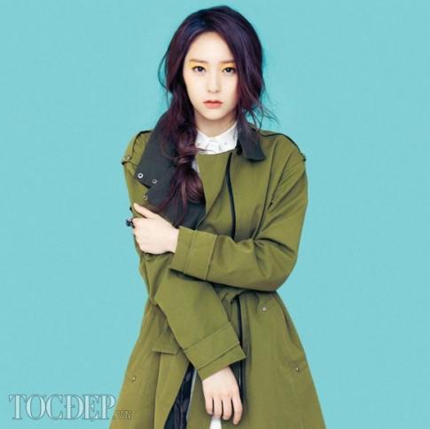 Kiểu tóc tết nữ lệch vai đẹp 2016 của sao kpop Hàn Quốc