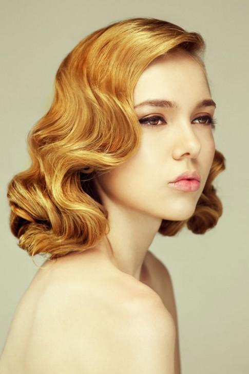 Kiểu tóc uốn gợn sóng đẹp 2016 cổ điển cho cô nàng đầy sang trọng