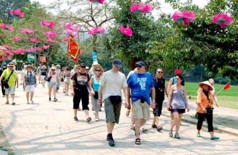 Lượng khách quốc tế đến Việt Nam sắp đạt kế hoạch