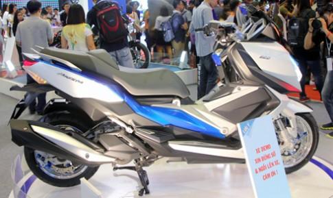 MaxSYM 500 - xe tay ga mới xuất hiện tại Việt Nam