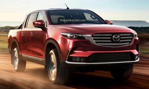Mazda BT-50 thế hệ mới 'chia tay' Ford Ranger