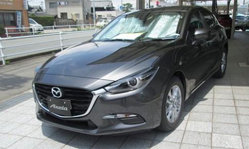 Mazda3 2017 xuất hiện trên đường