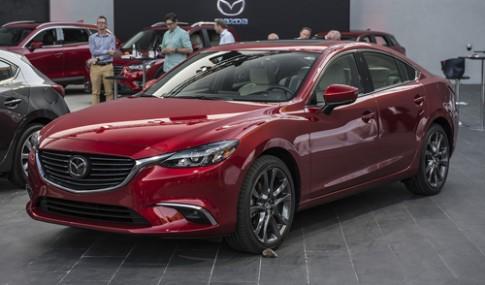Mazda6 2017 ra mắt - lời đe dọa Toyota Camry