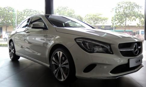 Mercedes CLA 200 đời mới đầu tiên tại Việt Nam
