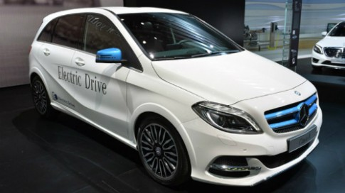 Mercedes EQ - thương hiệu mới của hãng xe sang Đức