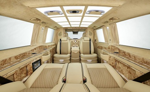 Mercedes V-class phiên bản thương gia