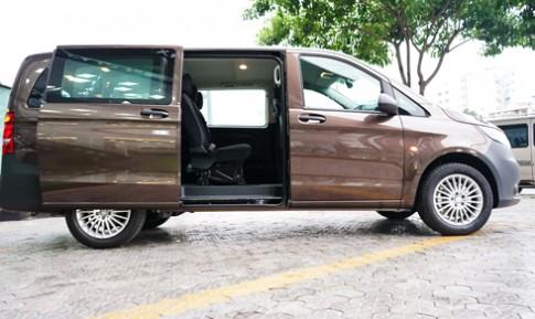 Mercedes Vito - xe gia đình giá 1,85 tỷ đồng tại Việt Nam