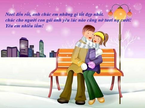 Nhưng câu nói lời chúc giáng sinh dành tặng người yêu hay và ý nghĩa nhất
