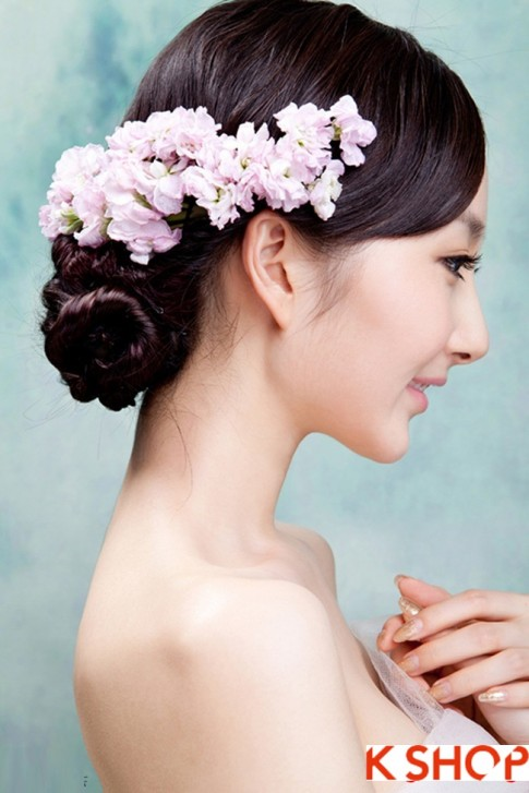 Những kiểu tóc cô dâu đẹp quyến rũ lôi cuốn nổi bật ngày cưới 2016