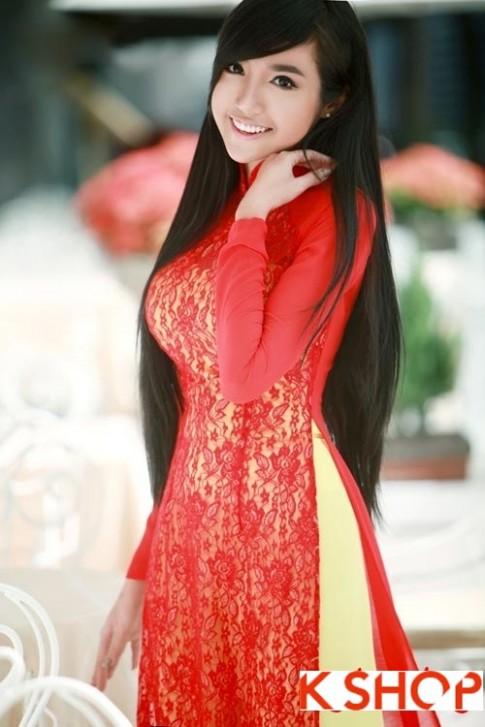 Những kiểu tóc đẹp 2016 phù hợp với bạn gái mặc áo dài duyên dáng