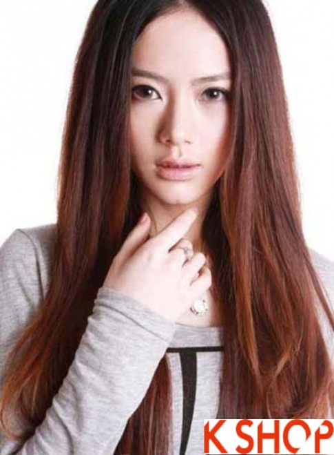 Những kiểu tóc mái Hàn Quốc đẹp 2016 cho cô nàng sành điệu