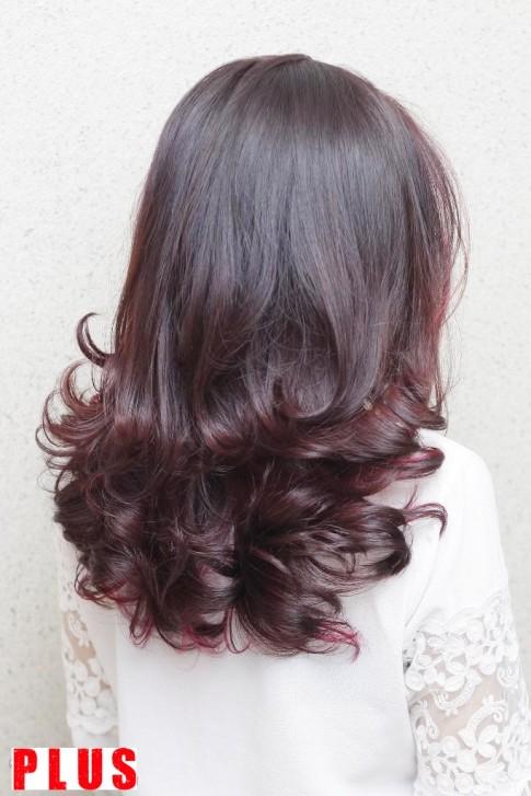 Những kiểu tóc ngắn lỡ uốn xoăn đuôi đẹp 2017 trẻ trung dịu dàng