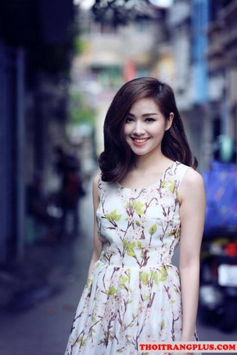 Những kiểu tóc uốn xoăn đẹp của Hot Girl Việt Tâm Tít 2016