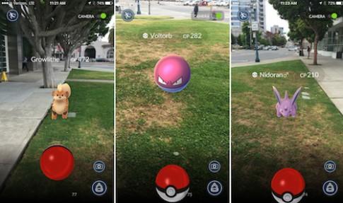 Những sự cố hi hữu khi chơi game Pokémon GO