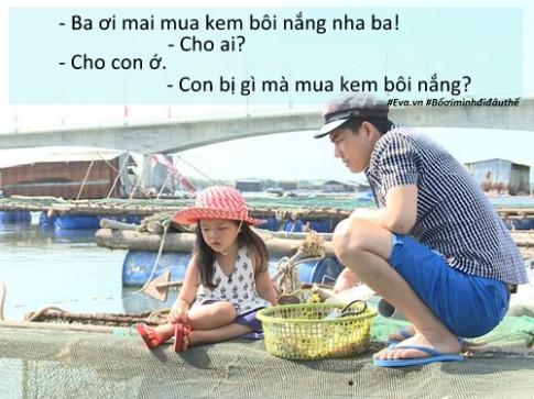 """Những tình huống """"cười chảy nước mắt"""" của bố con sao Việt trong Bố ơi mùa 3"""