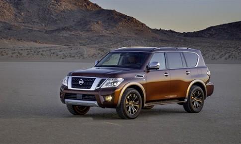 Nissan Armada moi - doi thu Honda Pilot, gia tu 44.400 USD