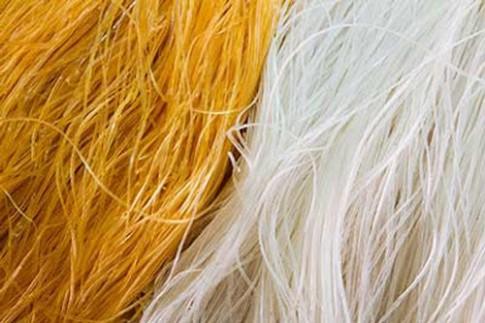 Phân biệt miến sạch và miến nhuộm màu hóa chất