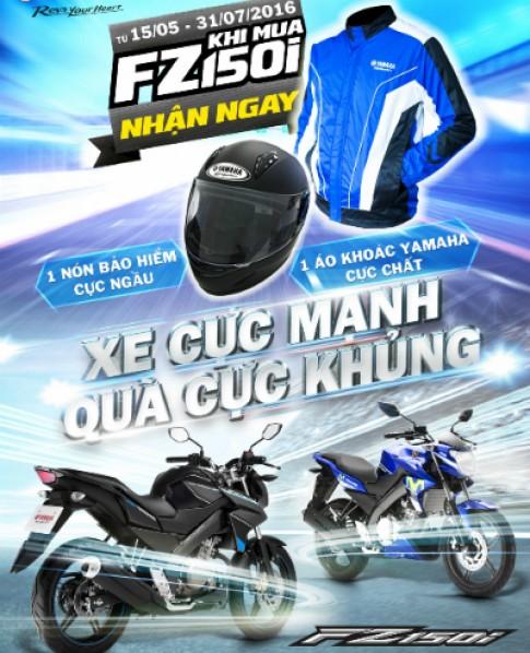 Quà tặng đồng bộ cho Yamaha FZ150i