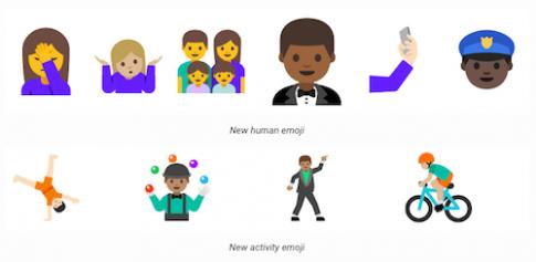 Rò rỉ bộ emoji mới trên Android N