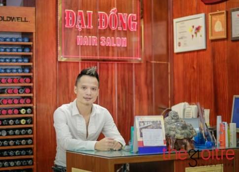 Salon Đại Đồng- nơi làm tóc uy tín nghệ sĩ trẻ Hà Thành hay lui tới