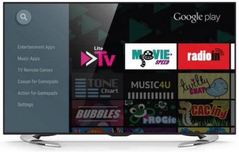 Sharp trình làng TV 4K tích hợp hệ điều hành Android