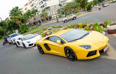Siêu xe Lamborghini - thú chơi của đại gia Sài Gòn
