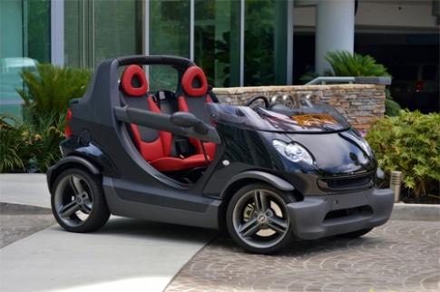 Smart Crossblade - ôtô không mui giá 13.800 USD