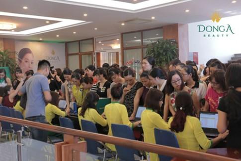 Sức nóng ngày khai trương chi nhánh thứ 4 của Đông Á Beauty.