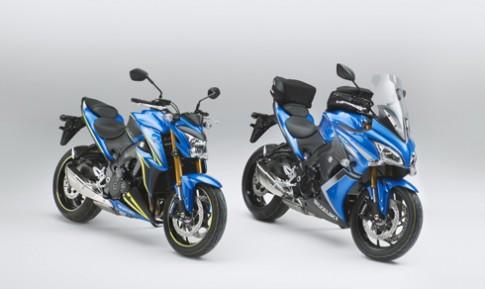 Suzuki giới thiệu hai mẫu môtô bản đặc biệt