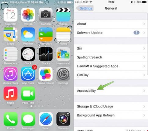 Thủ thuật điều chỉnh tốc độ nút Home trên iPhone
