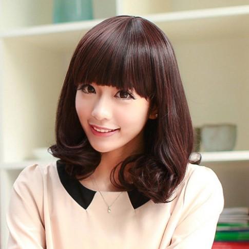 Tóc mái bằng Hàn Quốc đẹp cho nàng phong cách dễ thương 2016