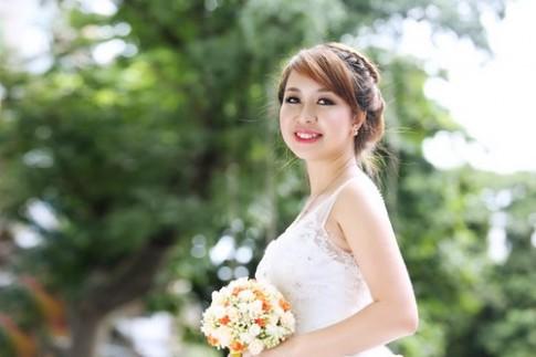 Tóc tết cô dâu đẹp dễ thương trong ngày cưới 2016 cho nàng mặt tròn