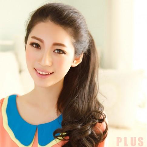 Tóc xoăn dài đuôi đẹp Hàn Quốc cho bạn gái cuốn hút 2016