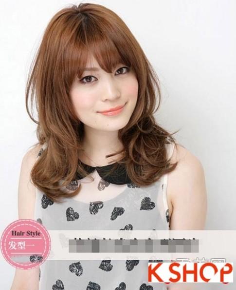 Tóc xoăn Hàn Quốc đẹp 2016 trẻ trung cho cô nàng nữ tính quyến rũ