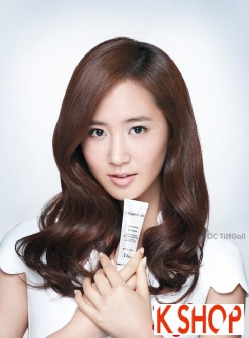 Tóc xoăn Hàn Quốc đẹp của Yuri SNSD nữ tính quyến rũ năm 2016