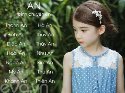 Top tên Hán Việt hay, ý nghĩa cho con gái 2016 (Phần 1)
