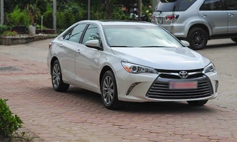 Toyota Camry XLE 2016 bản xuất Mỹ về Việt Nam