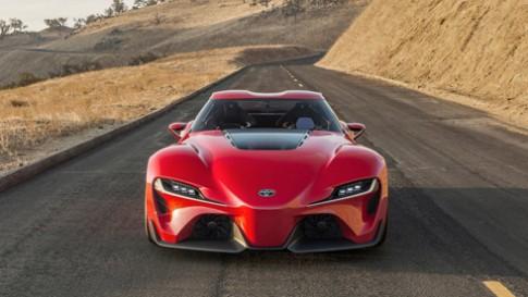 Toyota Supra - huyền thoại hồi sinh