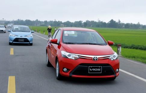 Toyota Vios động cơ mới chuẩn bị ra mắt tại Việt Nam