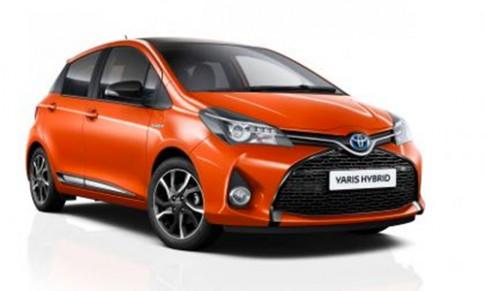 Toyota Yaris Orange Edition bản đặc biệt giá từ 20.500 USD