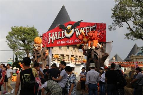 Trải nghiệm lễ hội Halloween đặc sắc trên đỉnh Bà Nà