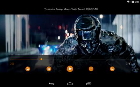 Trình nghe nhạc đình đám VLC chính thức lên Android