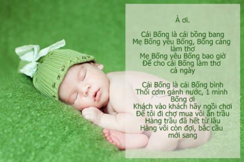 Tuyển chọn những bài hát ru hay nhất cho bé dễ ngủ