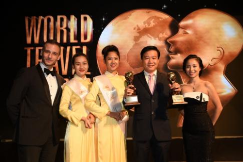 Vietnam Airlines giành 2 danh hiệu tại 'Giải Oscar du lịch'