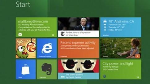 Windows 8 tiêu thụ chậm hơn kỳ vọng?