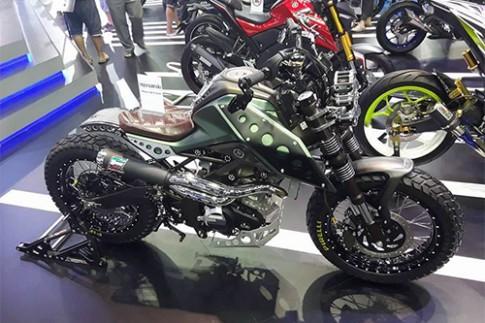 Xế độ Yamaha Scrambler Concept của thợ Thái Lan