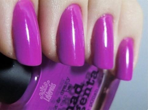 11 mẫu nail màu tím đẹp 2017 cho nàng lãng mạn sang trọng đi dự tiệc