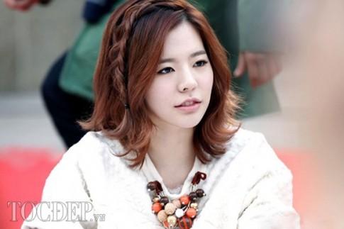 12 kiểu tóc tết mái đẹp 2017 Hàn Quốc cho bạn gái tuổi teen điệu đà